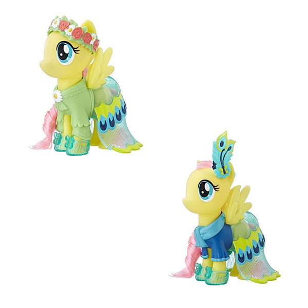 Игрушка Флаттершай Сияние Пони-модницы My Little Pony Hasbro