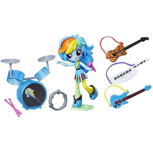 Игровой набор Rainbow Dash Rockin' Music Class Equestria Girls Hasbro