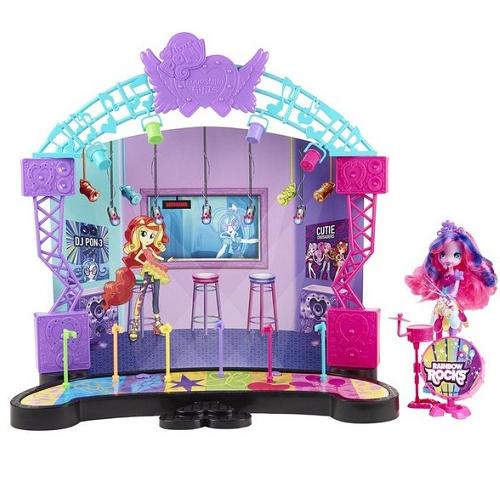 """Игровой набор """"Рок-концерт Эквестрия герлз"""" с Пинки Пай Equestria Girls Hasbro"""