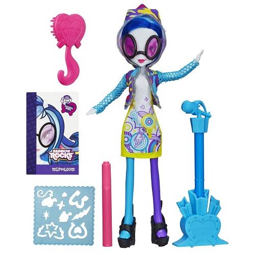 Игровой набор с куклой Ди-джей Пон-3 Equestria Girls Hasbro