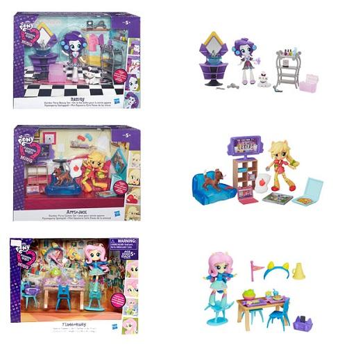 Игровой набор с мебелью для мини-кукол Equestria Girls Hasbro