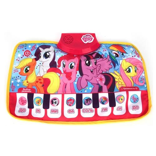 Музыкальный коврик-пианино My Little Pony Умка