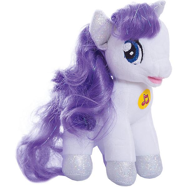 Мягкая игрушка Пони Рарити 18 см со звуком My little Pony Мульти-Пульти