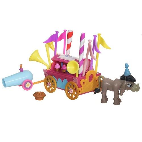 Коллекционный игровой набор фигурок Приветственный фургон My Little Pony Hasbro