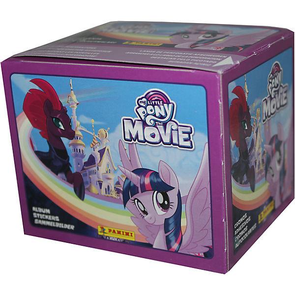 Наклейки Мой маленький пони в кино 50 пакетов по 5 наклеек My Little Pony Panini