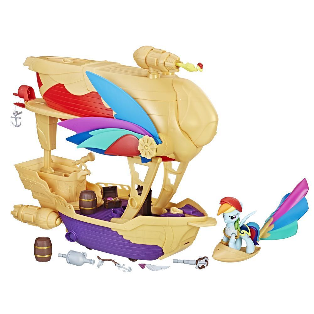 Игровой набор Стражи Гармонии Летающий корабль My Little Pony Hasbro