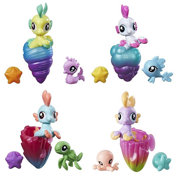 Игрушка-фигурка в ракушке Мерцание Пони-подружки My Little Pony Hasbro