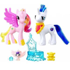"Набор фигурок Принцесса Каденс и Шайнинг Армор ""Пони-модницы"" My Little Pony Hasbro"