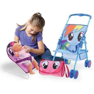 Игровой набор Коляска для кукол, пупс и переноска 3 в 1 Friendship Playset My Little Pony