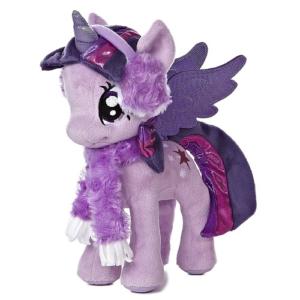 Мягкая игрушка Твайлайт Спаркл Новогодняя 25 см Princess Twilight Sparkle Winter My Little Pony Aurora