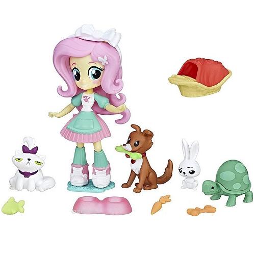 Игровой набор Спа для животных Флаттершай Equestria Girls Hasbro