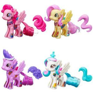 Игровой набор Стильная пони Создай свою пони 2 шт. My Little Pony Hasbro