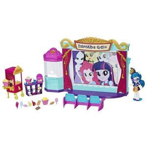 Игровой набор с мини-куклами Кинотеатр Equestria Girls Hasbro