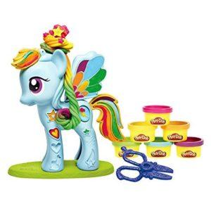Игровой набор с пластилином Стильный салон Рэйнбоу Дэш My little Pony Play-Doh