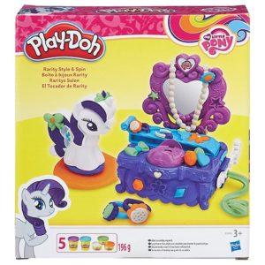 Игровой набор с пластилином Туалетный столик Рарити My little Pony Play-Doh Hasbro