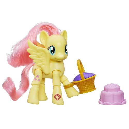 Игрушка Пони с артикуляцией Флаттершай My Little Pony Hasbro