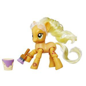 Игрушка Пони с артикуляцией Рисующая Эпплджек My Little Pony Hasbro