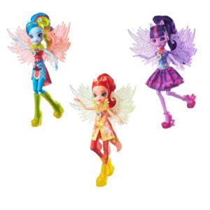 Кукла Легенда Вечнозеленого леса с крыльями Equestria Girls Hasbro