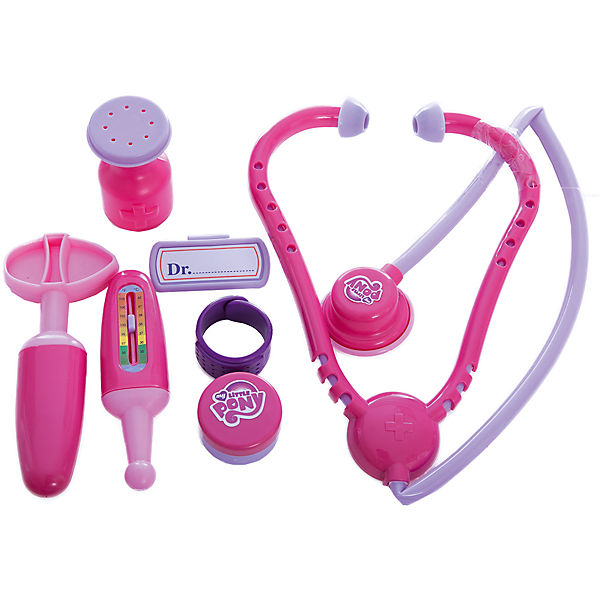 Набор доктора со стетоскопом в кейсе My little Pony Klein