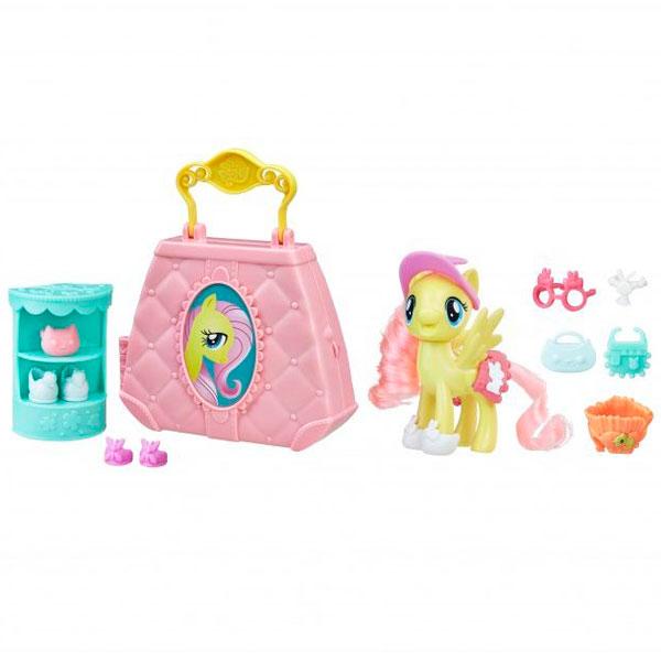 Игровой набор Возьми с собой Обувной магазинчик Флатершай My Little Pony Hasbro