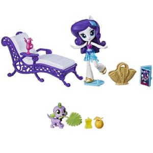 Игровой набор Спа для животных Rarity Equestria Girls My Little Pony Hasbro