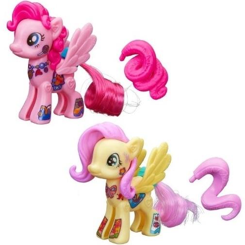 Набор фигурок Создай свою пони Флаттершай и Пинки Пай My Little Pony