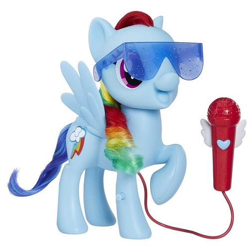 Интерактивная Пони Поющая Радуга Деш Караоке My Little Pony Hasbro