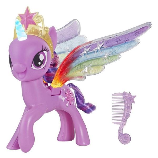 Игрушка Искорка с радужными крыльями My Little Pony Hasbro