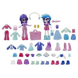 Игровой набор Девочки Эквестрии модницы Искорка и Диджей