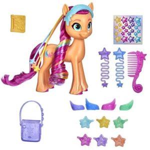 Фигурка Санни Старскаут Радужные волосы My Little Pony