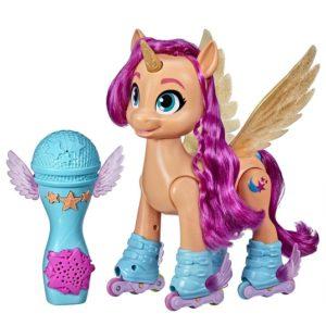 Интерактивная игрушка Пони Санни поет и катается на роликах My Little Pony